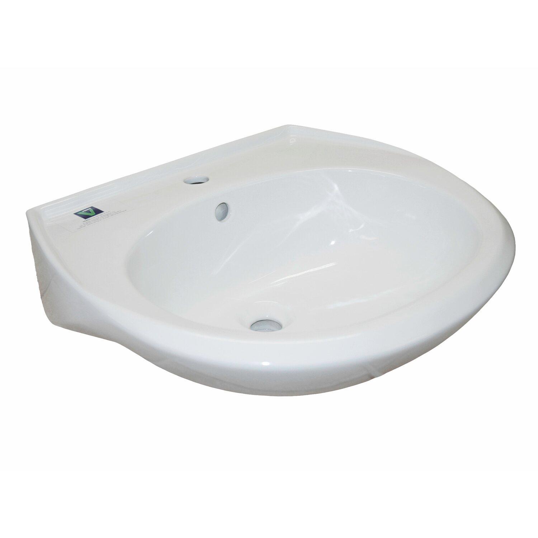 standard waschbecken 60 cm rund wei kaufen bei obi