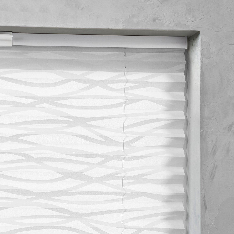 cocoon plissee verspannt 20 mm dessin wave 70 cm x 130 cm kaufen bei obi. Black Bedroom Furniture Sets. Home Design Ideas