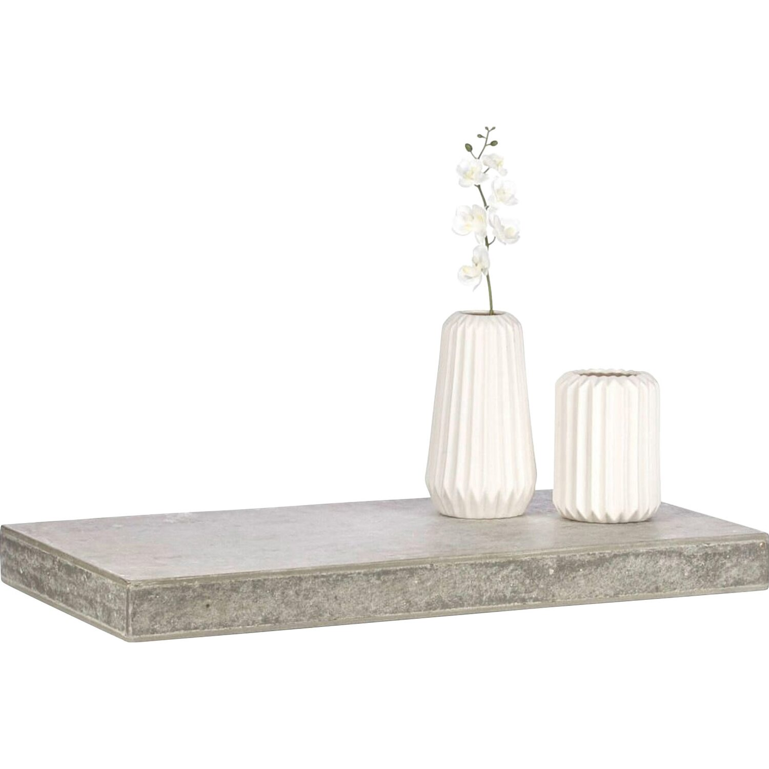 Best of home Wandregal Betonoptik 5 cm x 60 cm x 30 cm