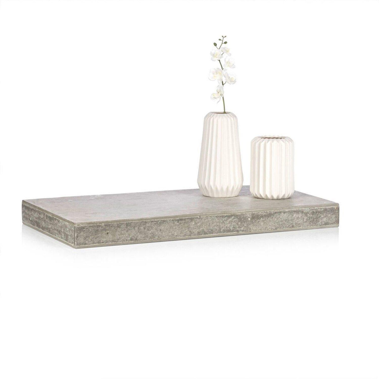 best of home wandregal betonoptik 5 cm x 90 cm x 30 cm. Black Bedroom Furniture Sets. Home Design Ideas