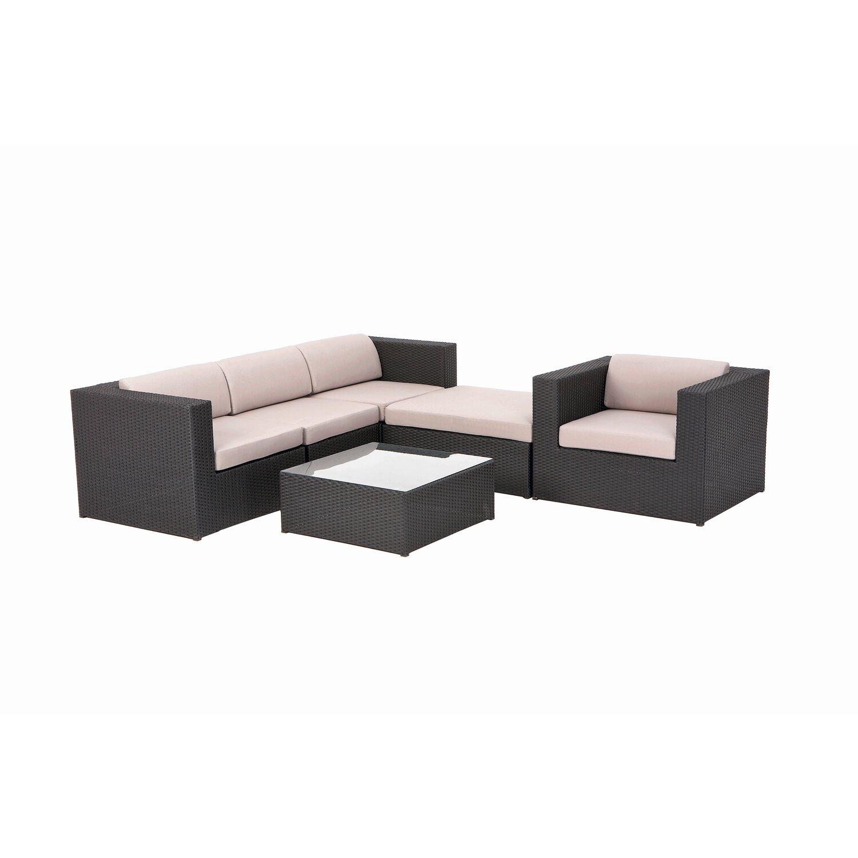 obi gartenm belgruppe branford bez ge beige anthrazit 6. Black Bedroom Furniture Sets. Home Design Ideas
