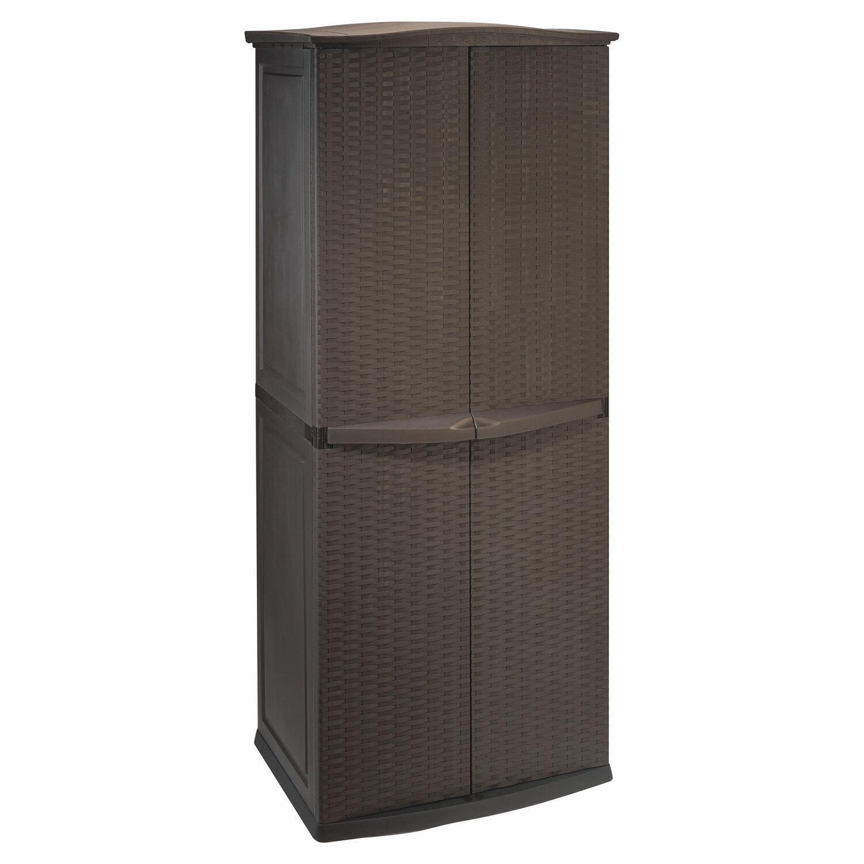 gartenschrank kunststoff rattan qj91 hitoiro. Black Bedroom Furniture Sets. Home Design Ideas
