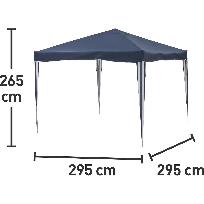 Komplett Neu CMI Alu-Falt-Pavillon Blau 300 cm x 300 cm kaufen bei OBI CT23