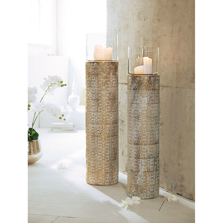 best of home boden windlicht oriental 103 cm kaufen bei obi. Black Bedroom Furniture Sets. Home Design Ideas