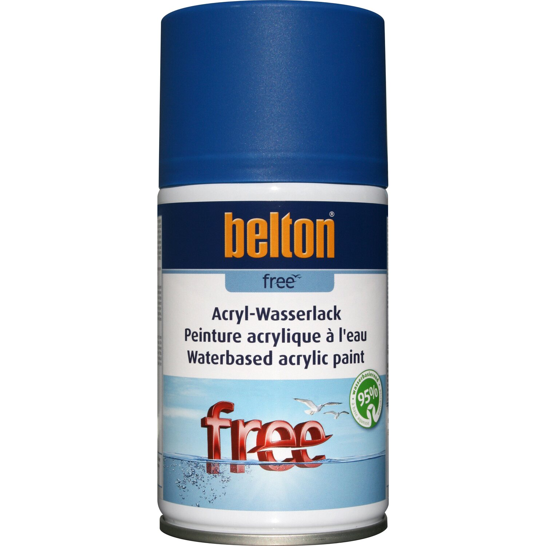 belton Belton Free Acryl-Wasserlack Enzianblau matt 250 ml