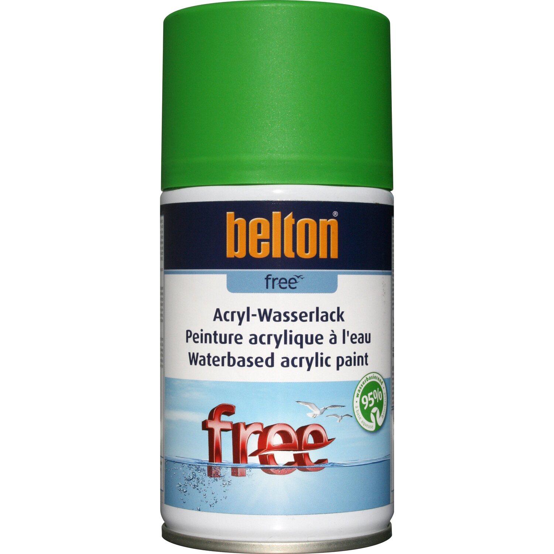 belton Belton Free Acryl-Wasserlack Gelbgrün matt 250 ml