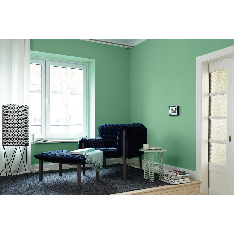 wandgestaltung mit farbe blau schattierungen, alpina feine farben no. 9 extravagantes blaugrün edelmatt 2,5 l, Design ideen
