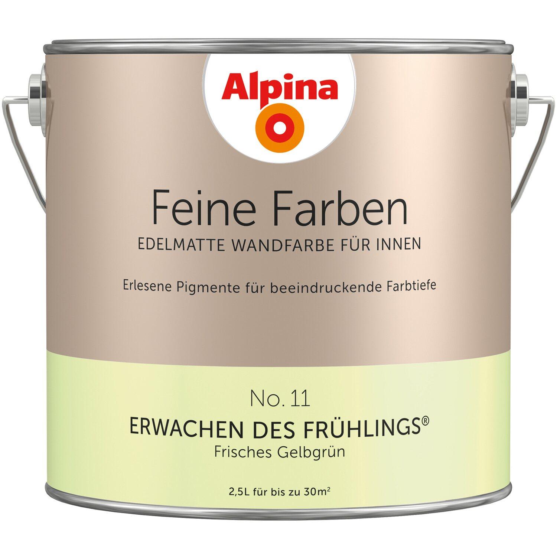 11 Frisches Gelbgrün Edelmatt 2,5 L