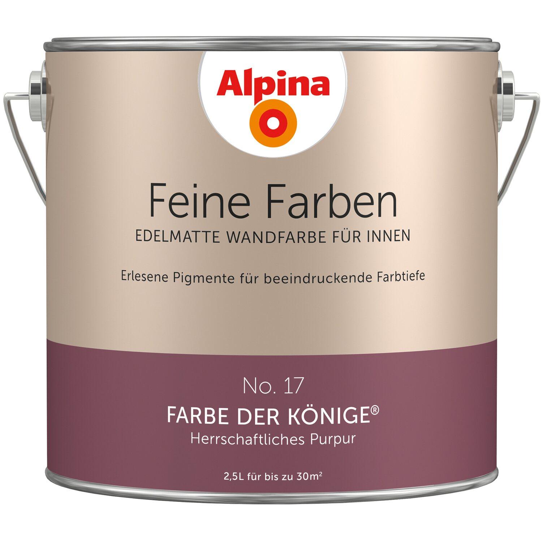 alpina feine farben no 17 herrschaftliches purpur edelmatt 2 5 l kaufen bei obi. Black Bedroom Furniture Sets. Home Design Ideas