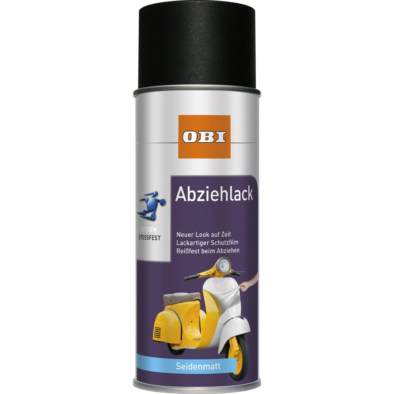OBI  Abziehlack Schwarz seidenmatt 400 ml