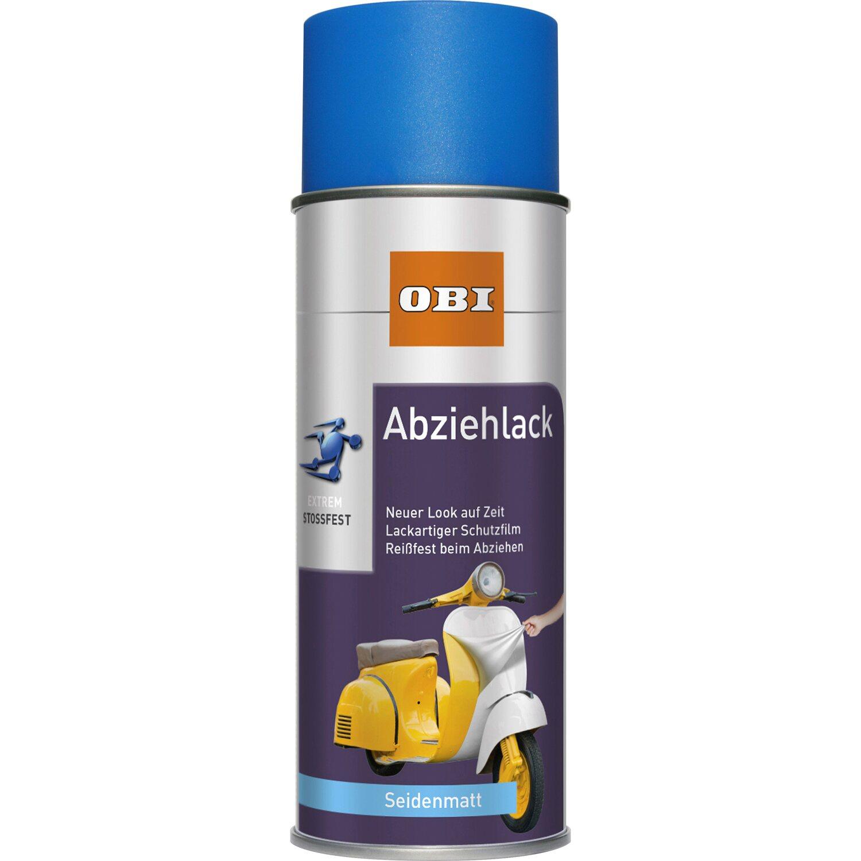 OBI  Abziehlack Blau seidenmatt 400 ml