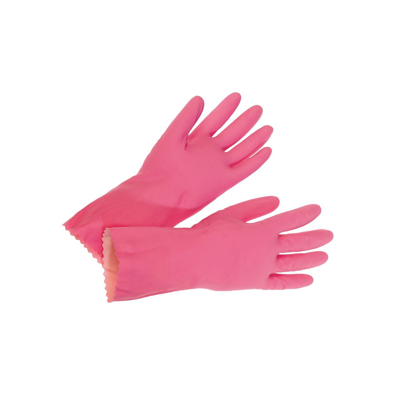 LUX Spülhandschuh Größe 7 Pink