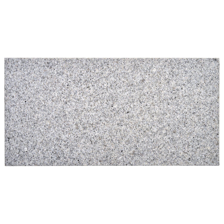 Terrassenplatte Naturstein Sino Grau 60 cm x 30 cm x 2 cm