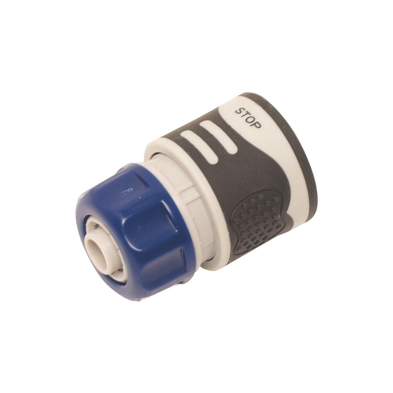 LUX Schlauchstück mit Wasserstopp Kunststoff 13 mm (1/2)