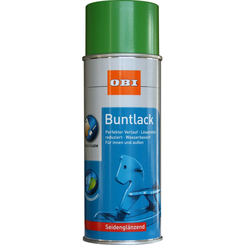 OBI  Buntlack Spray Gelbgrün seidenglänzend wv 400 ml