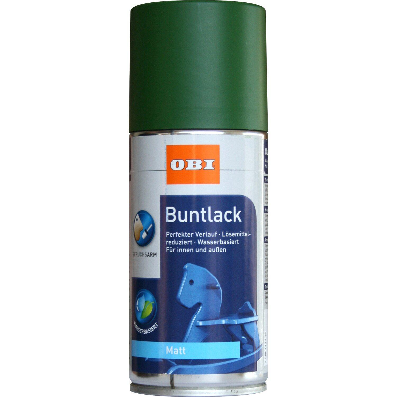 OBI  Buntlack Spray Laubgrün matt wv 150 ml