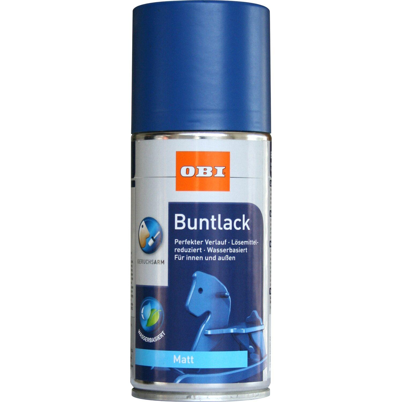 OBI  Buntlack Spray Enzianblau matt wv 150 ml