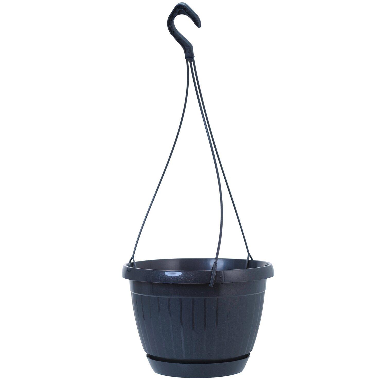 ebertsankey h ngeampel lucca 24 cm anthrazit kaufen bei obi. Black Bedroom Furniture Sets. Home Design Ideas