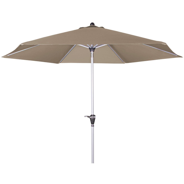 doppler sonnenschirm active auto tilt 320 cm greige kaufen bei obi. Black Bedroom Furniture Sets. Home Design Ideas
