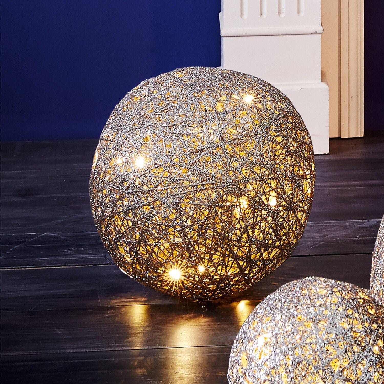 best of home beleuchtetes deko objekt kugel 25 cm kaufen bei obi. Black Bedroom Furniture Sets. Home Design Ideas