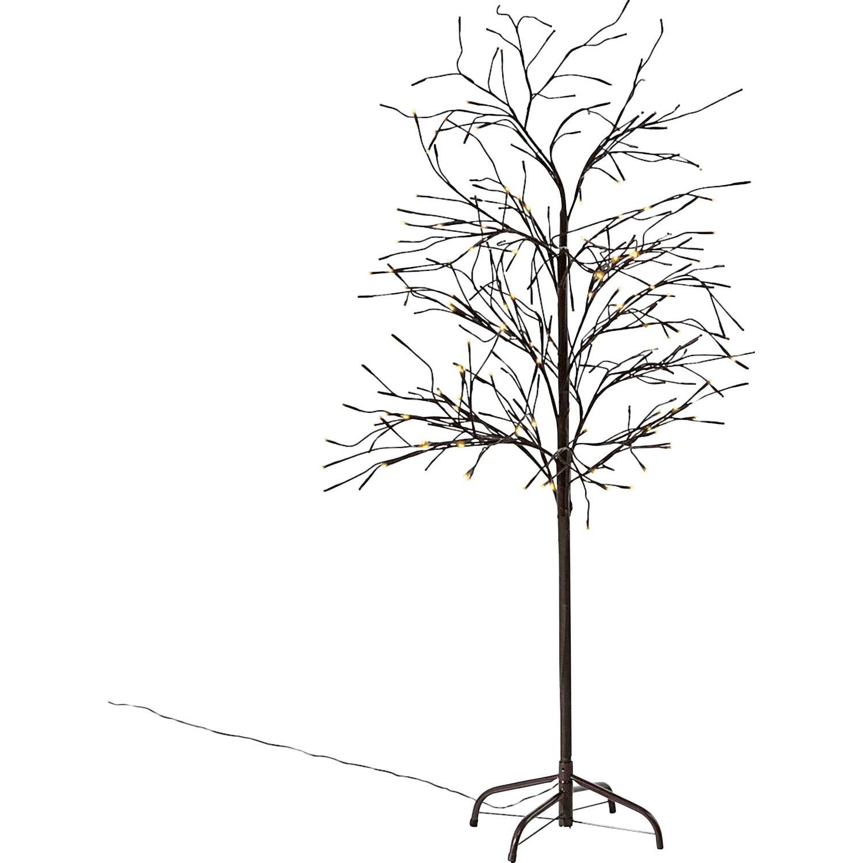 best of home Best of home LED-Baum Trauerweide 150 cm Braun
