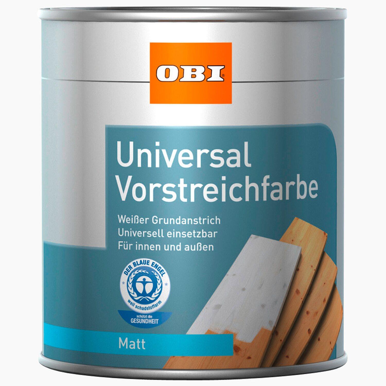 OBI  Universal Vorstreichfarbe Weiß matt 2,5 l