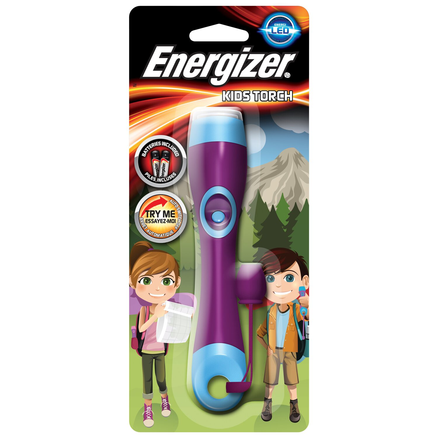 energizer taschenlampe kids torch inkl 2 x micro aaa batterien kaufen bei obi. Black Bedroom Furniture Sets. Home Design Ideas