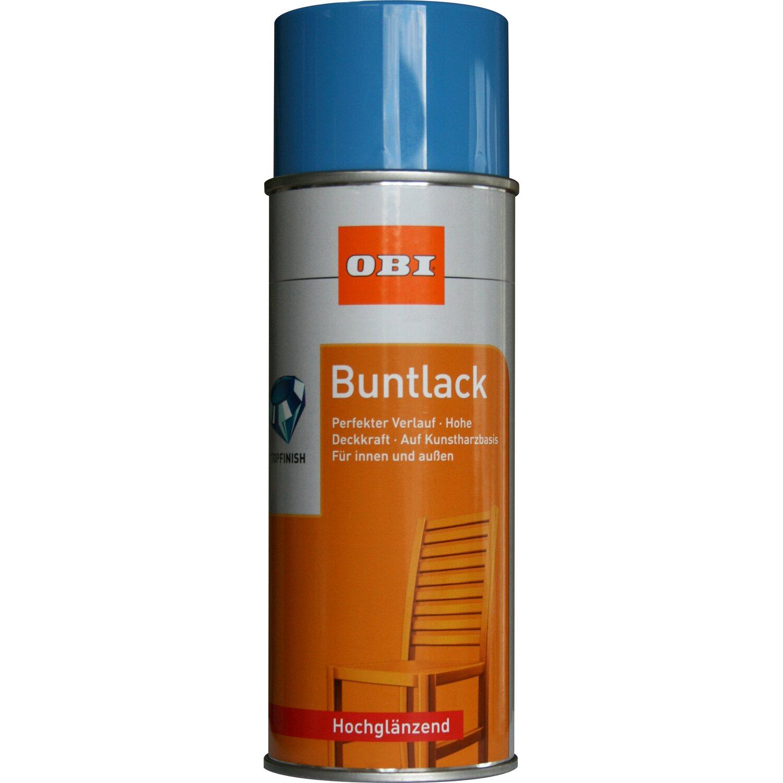 OBI  Buntlack Spray Lichtblau hochglänzend 400 ml