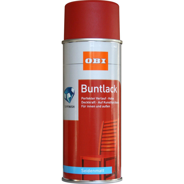 OBI  Buntlack Spray Feuerrot seidenmatt 400 ml