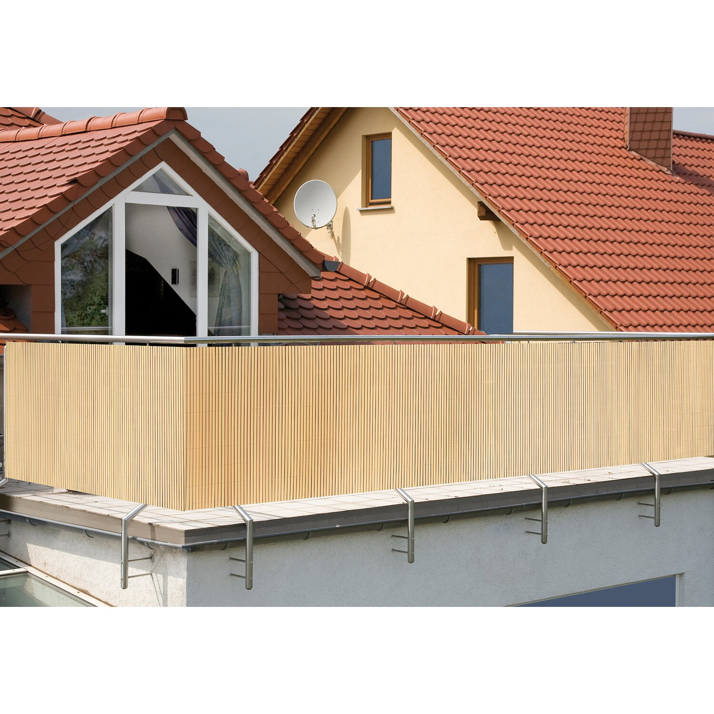 balkonverkleidung comfort bambus-optik 180 cm x 300 cm kaufen bei obi