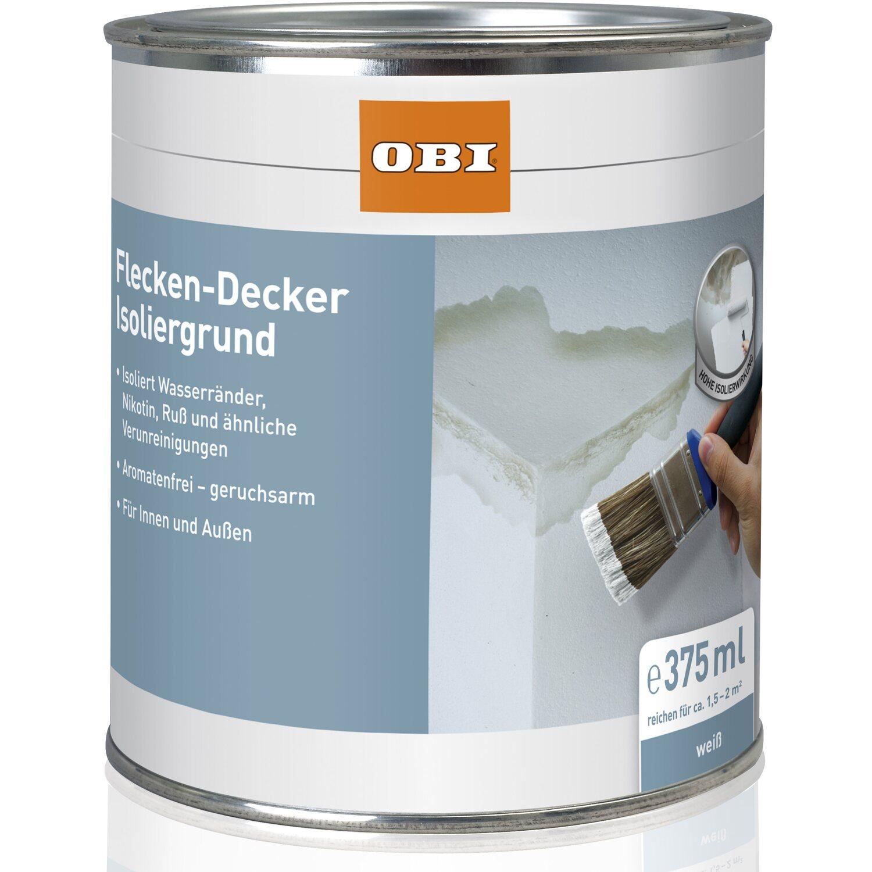OBI  Flecken-Decker Isoliergrund Weiß matt 375 ml