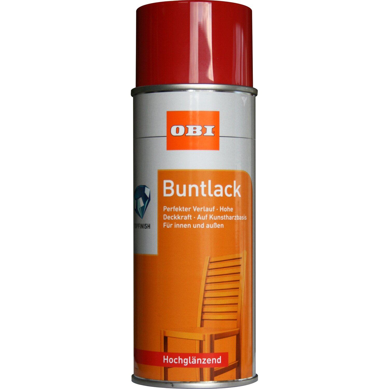OBI  Buntlack Spray Feuerrot hochglänzend 400 ml