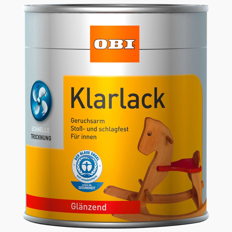 OBI Klarlack Transparent glänzend 125 ml