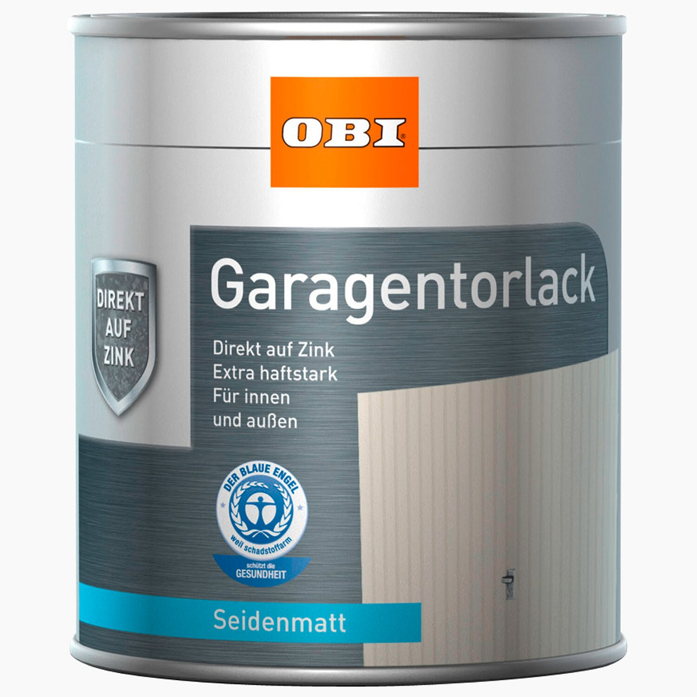 OBI  Garagentorlack Braun seidenmatt 750 ml
