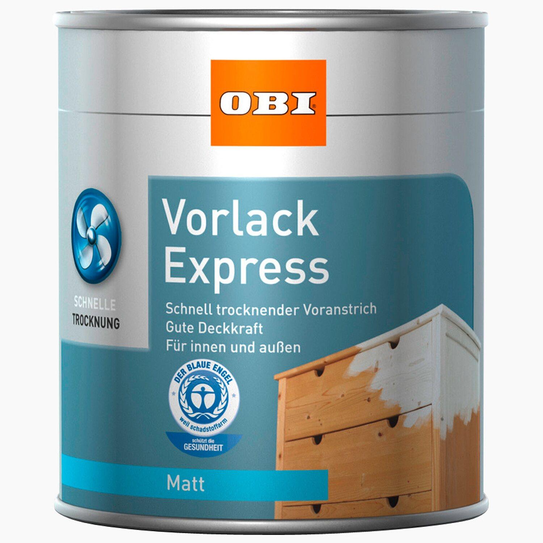 OBI  Vorlack Express Weiß matt 375 ml