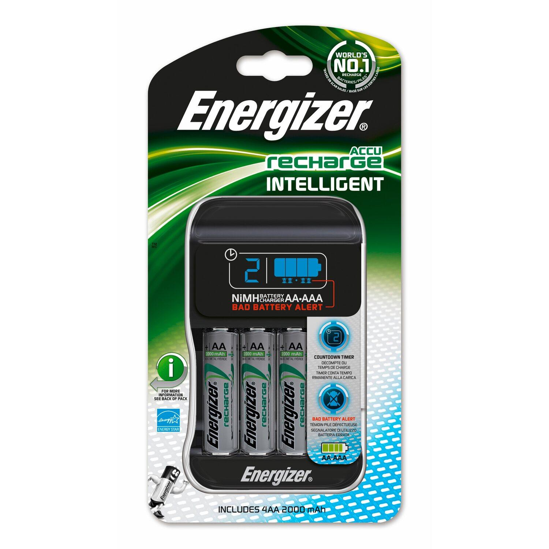 Energizer Ladegerät Intelligent + 4AA 2000 mAh kaufen bei OBI