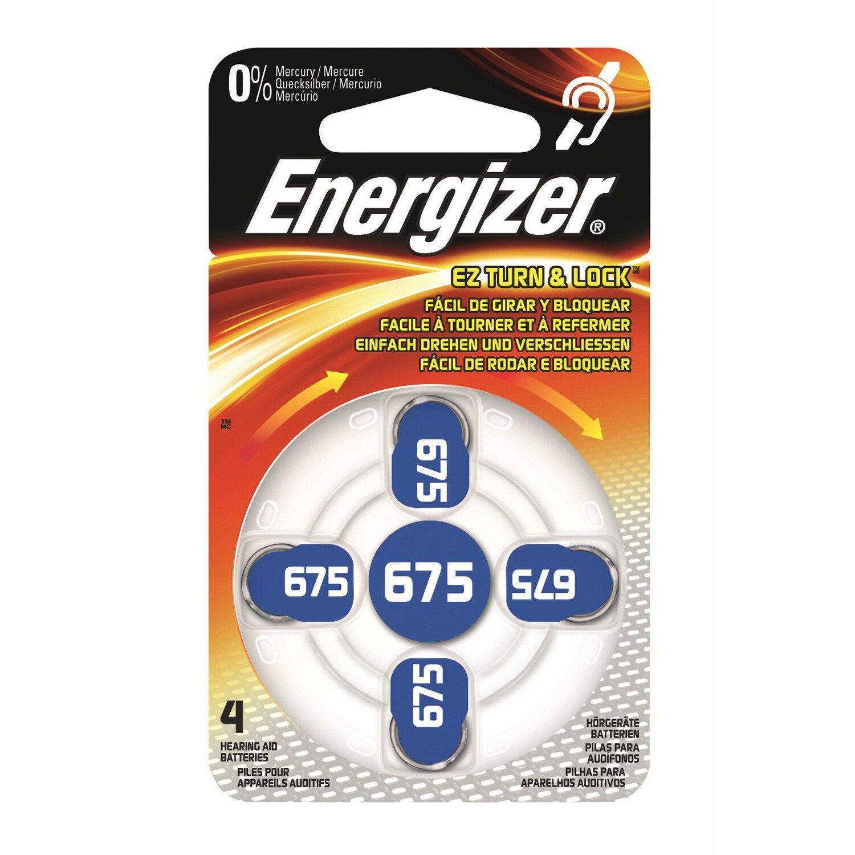 Energizer Hörgerätebatterie Zinc Air 675