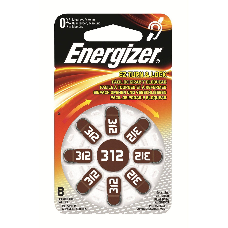 Energizer  Hörgerätebatterie Zinc Air 312
