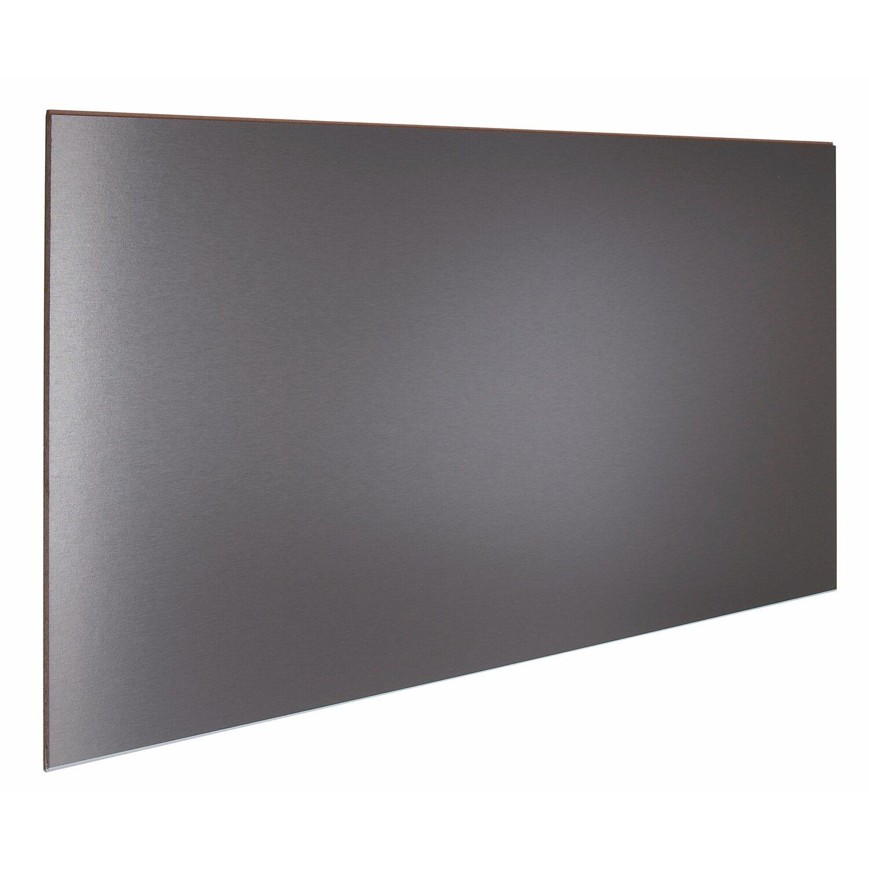 Küchenrückwand 148 cm x 58,5 cm Edelstahl (Alu 423) kaufen bei OBI