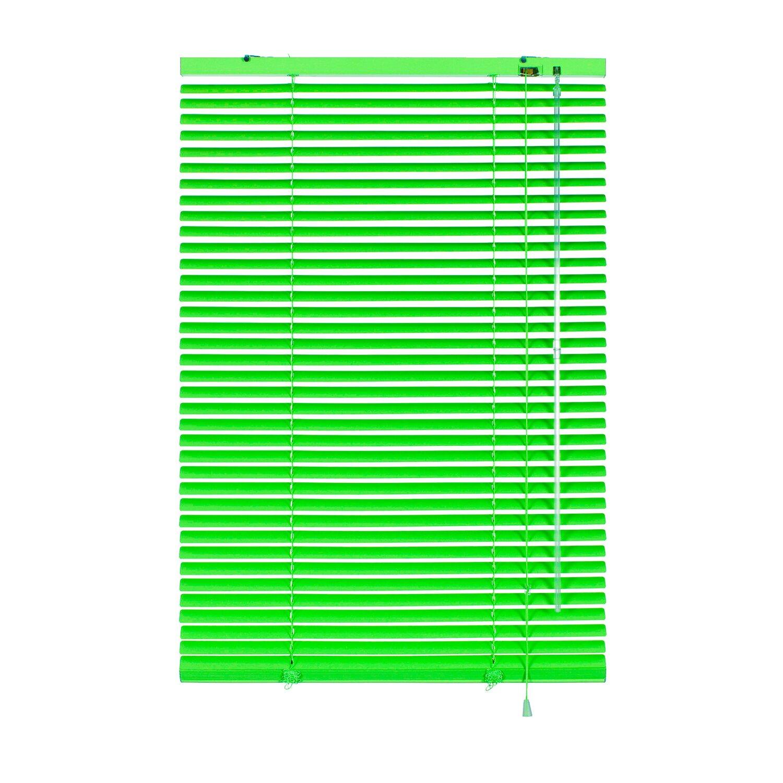Gardinia Aluminium Jalousie 50 cm x 175 cm Limone Preisvergleich