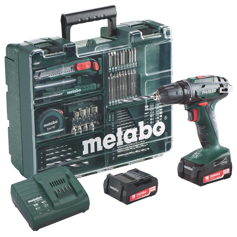 Metabo Akku-Bohrschrauber BS 14.4 Set Mobile Werkstatt Preisvergleich