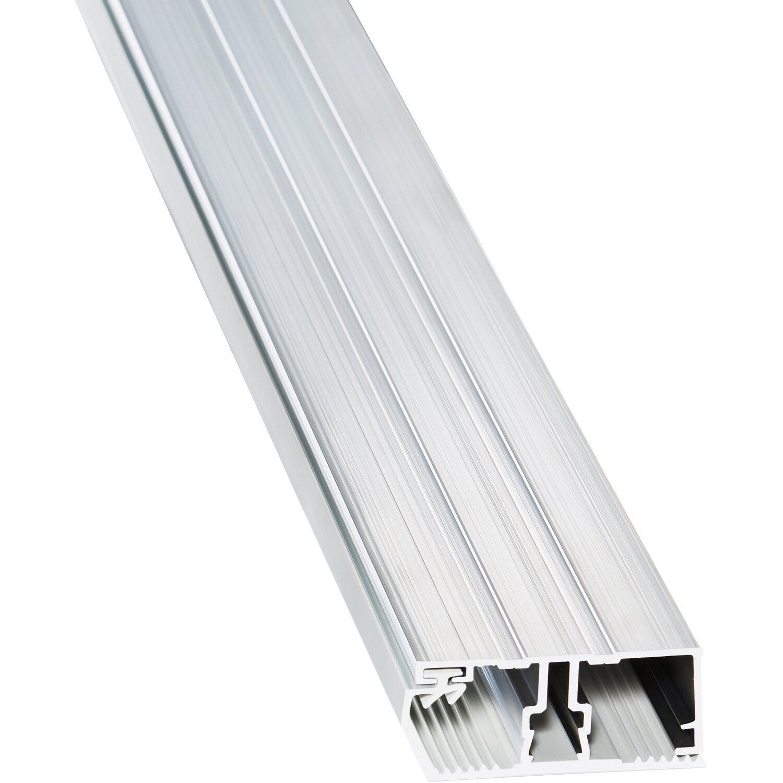 aluminium randprofil f r 16 mm hohlkammerplatten 5 m kaufen bei obi. Black Bedroom Furniture Sets. Home Design Ideas