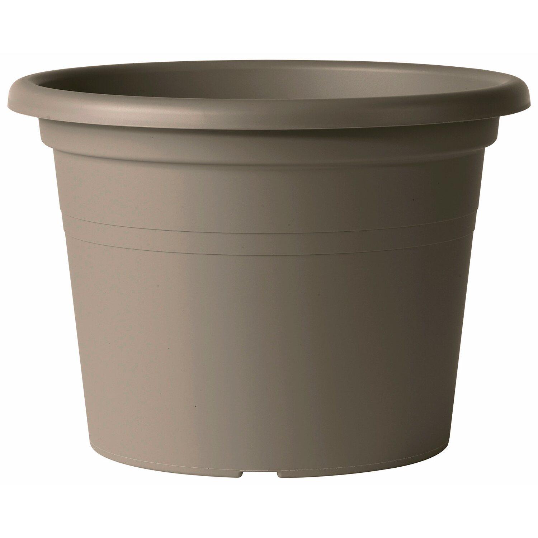 deroma pflanztopf zylinder farnese 30 cm sand kaufen bei obi. Black Bedroom Furniture Sets. Home Design Ideas