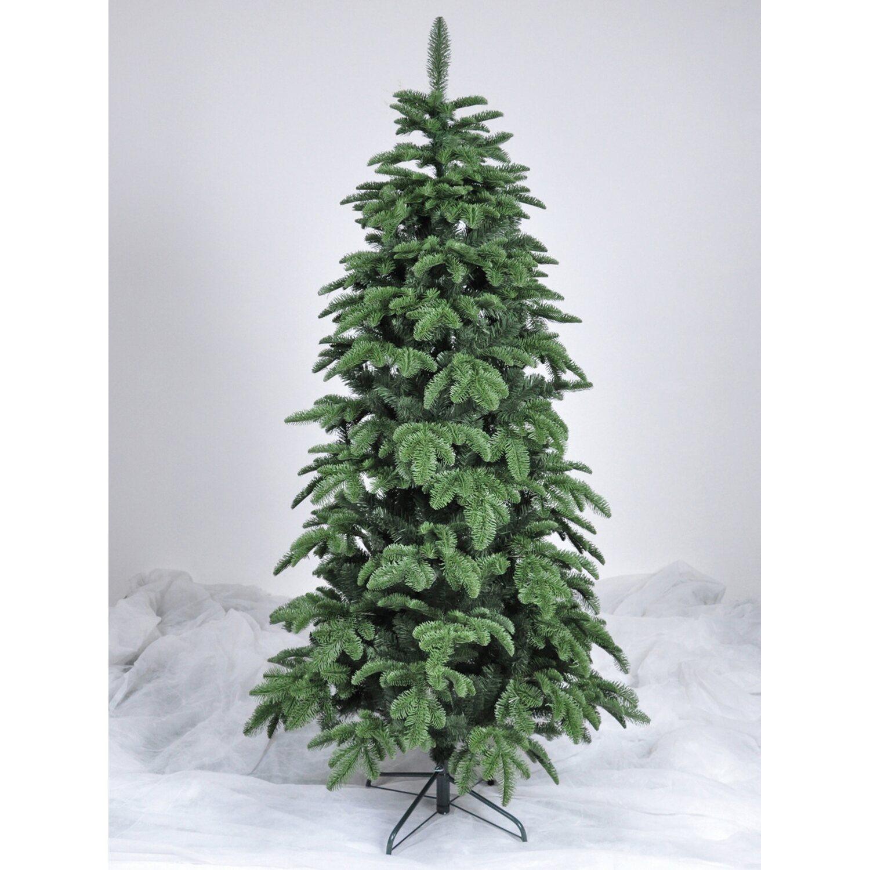 Weihnachtsbaum Künstlich Nordmanntanne.Takasho Künstlicher Weihnachtsbaum Nordmanntanne Slim 210 Cm
