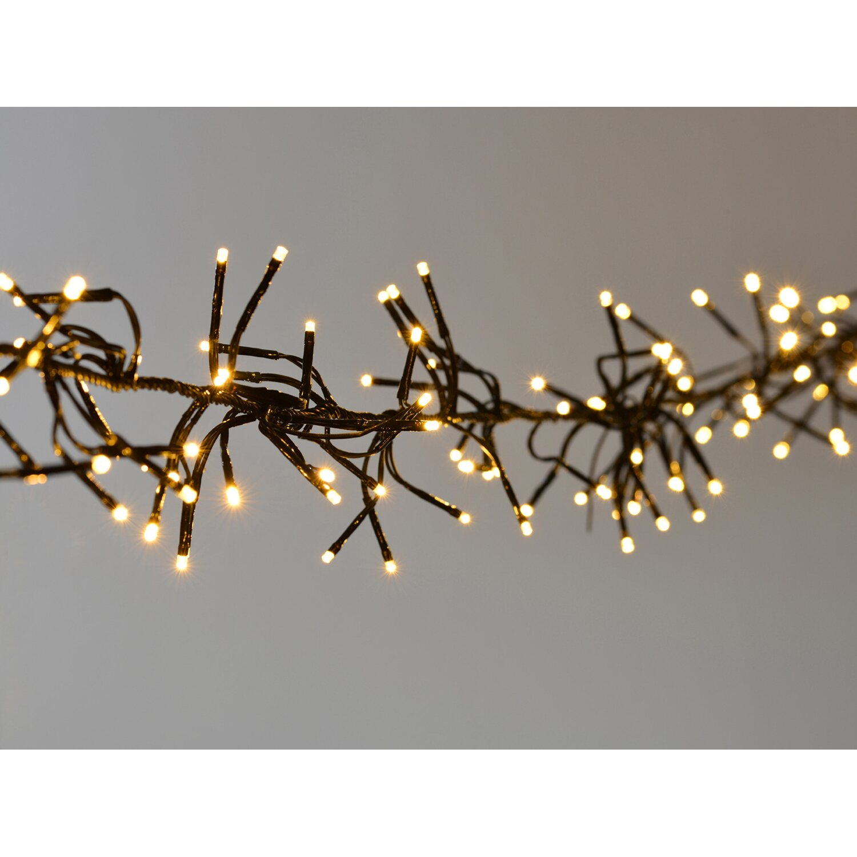 Takasho Cluster Lichterkette mit 288 LED Warmweiß
