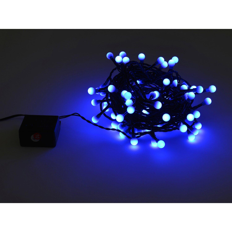 takasho lichterkette berry mit 80 led blau kaufen bei obi. Black Bedroom Furniture Sets. Home Design Ideas