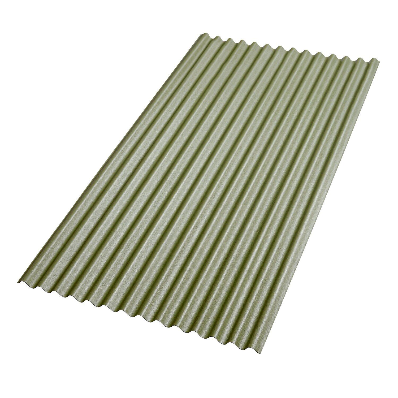 Gutta Bitumenwellplatte Grün 200 cm x 83 cm