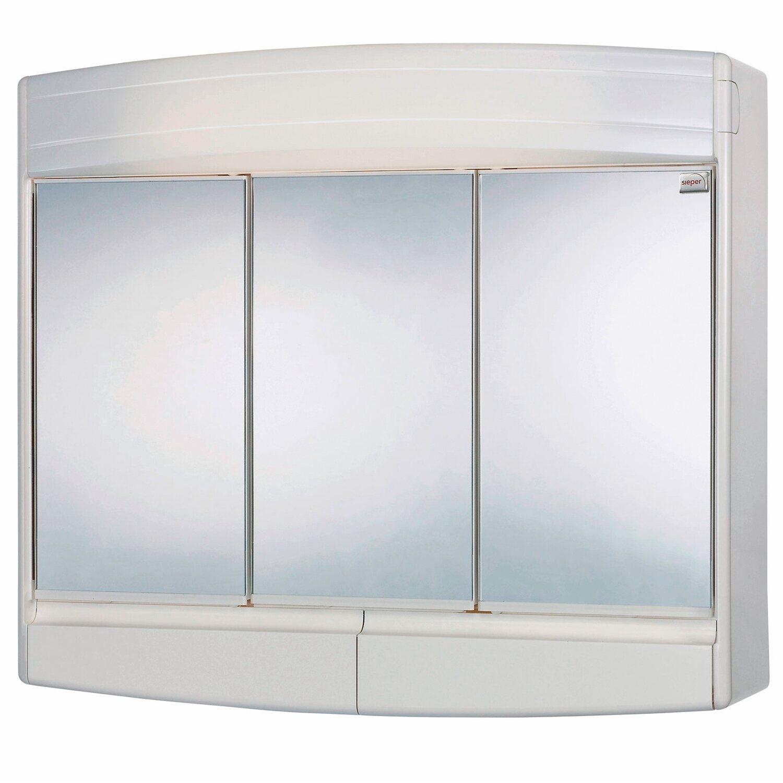 sieper spiegelschrank topas eco 60 cm wei eek a kaufen bei obi. Black Bedroom Furniture Sets. Home Design Ideas