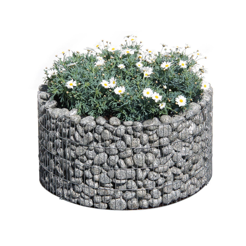 Bellissa Gabionen-Hochbeet Basic rund 40 cm