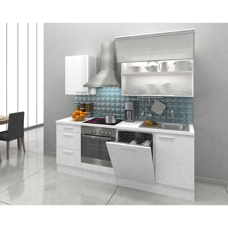Exquisit Küche 220 Cm Galerie Von Küche Mit Geschirrspüler